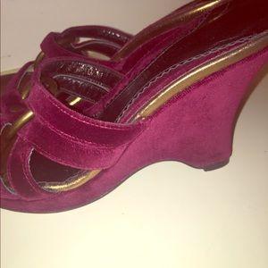 Vintage Kenneth Cole New York velvet shoes